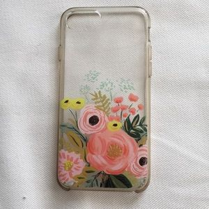 Anthropologie rifle paper phone case